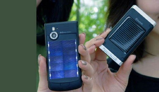 lg solar powered phone