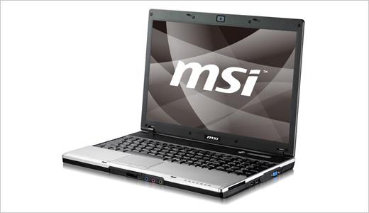 MSI VX600 laptop