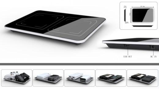 Universal wireless charging ElectroHub