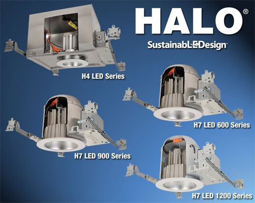 HALO LED Collection from Cooper Lighting