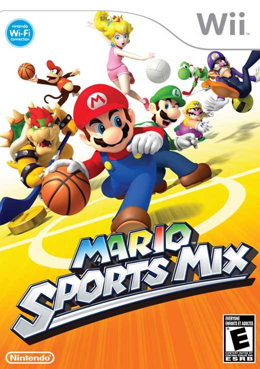 Nintendo  MARIO SPORTS MIX fro Wii