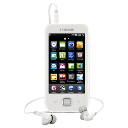 Samsung Galaxy Player - White