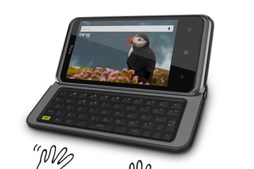 HTC 7 Pro Windows 7 Phone
