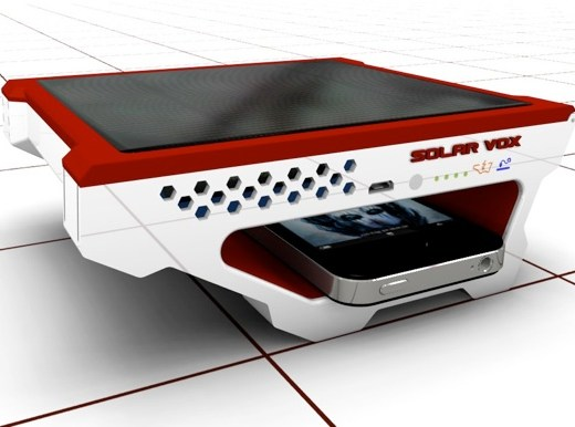 Solar Vox: Personal USB Solar Charger
