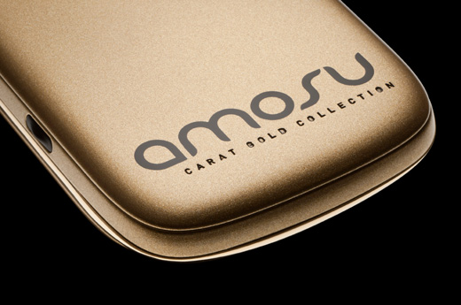 18 Carat Solid Gold Blackberry Torch from Amosu