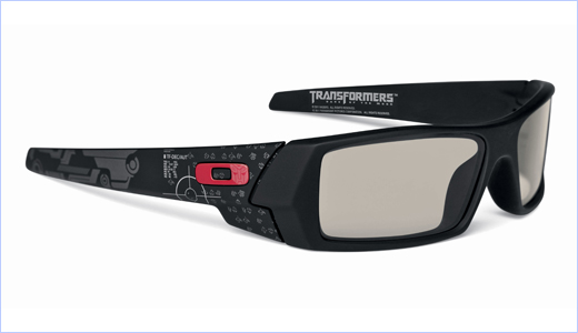 Oakley 3D Gascan Transformers Limited Edition