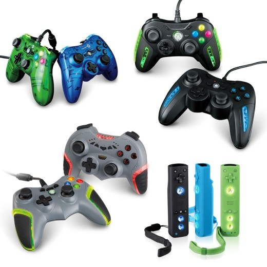 POWER_A_Xbox_360_PS3_Wii_New_Controllers