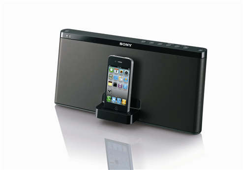 RDP-X60iP wireless speaker dock