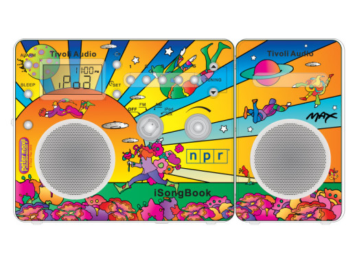 Tivoli Audio Peter Max radios for NPR