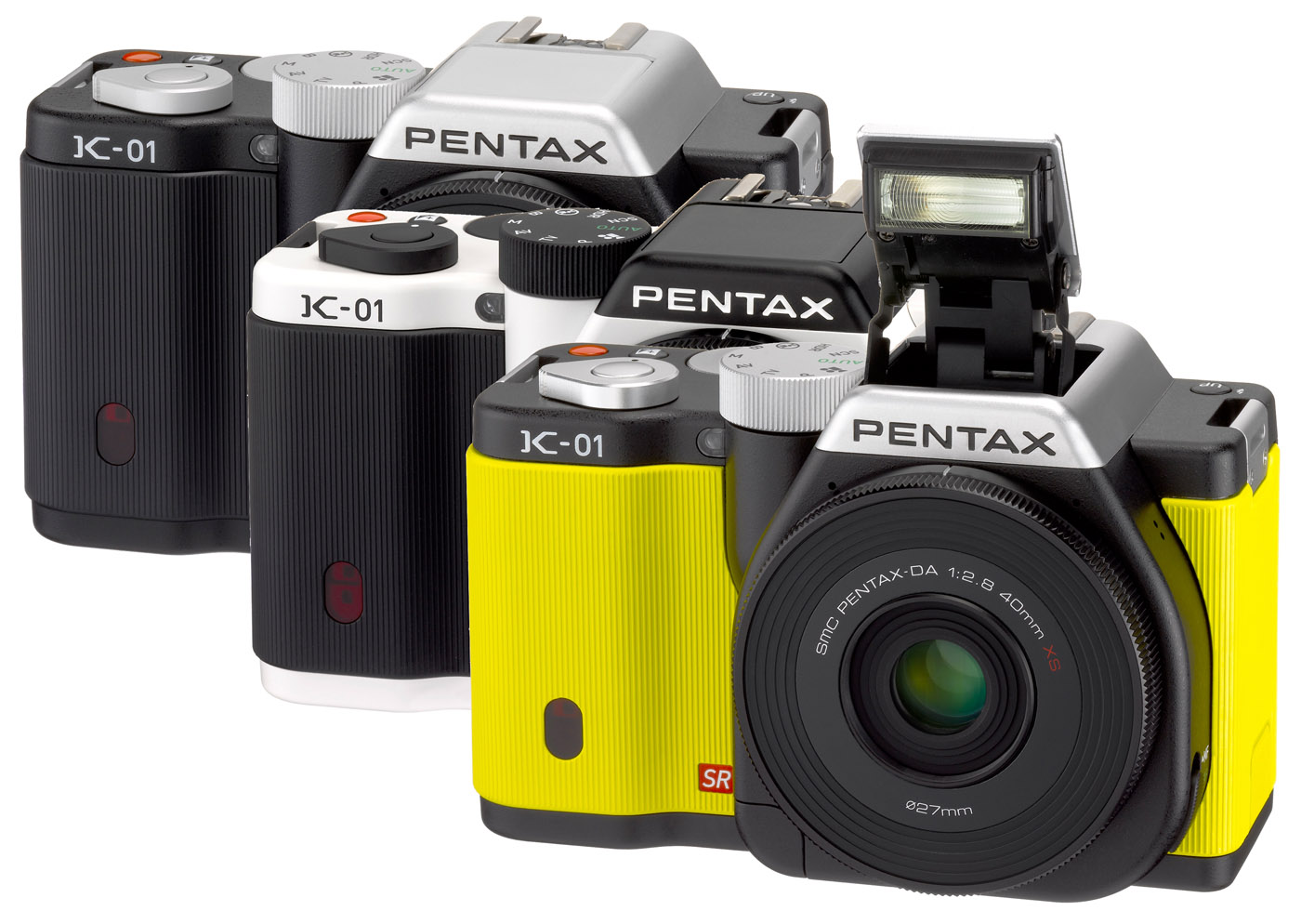 PENTAX K-01 DESIGNED BY MARC NEWSON