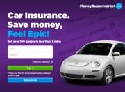 MoneySupermarket Car Insurance Comparison App
