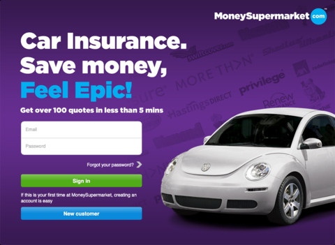 MoneySupermarket   Car Insurance Comparison App