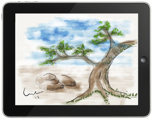 sketch-on-ipad