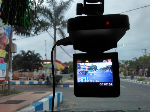 Ge-Force 720p Dashboard Camera