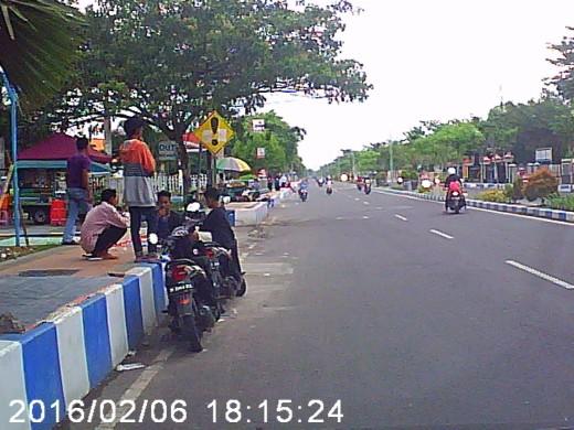 sample Ge-Force 720p Dashboard Camera