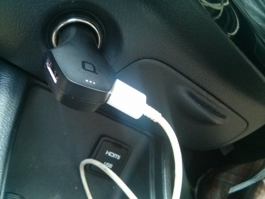 ZUS smart CAR USB charger