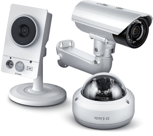 Wireless surveillance cameras for complete security