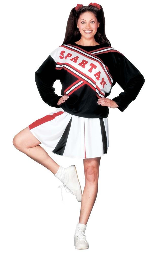 Spartan Cheerleader Adult Womens Costume