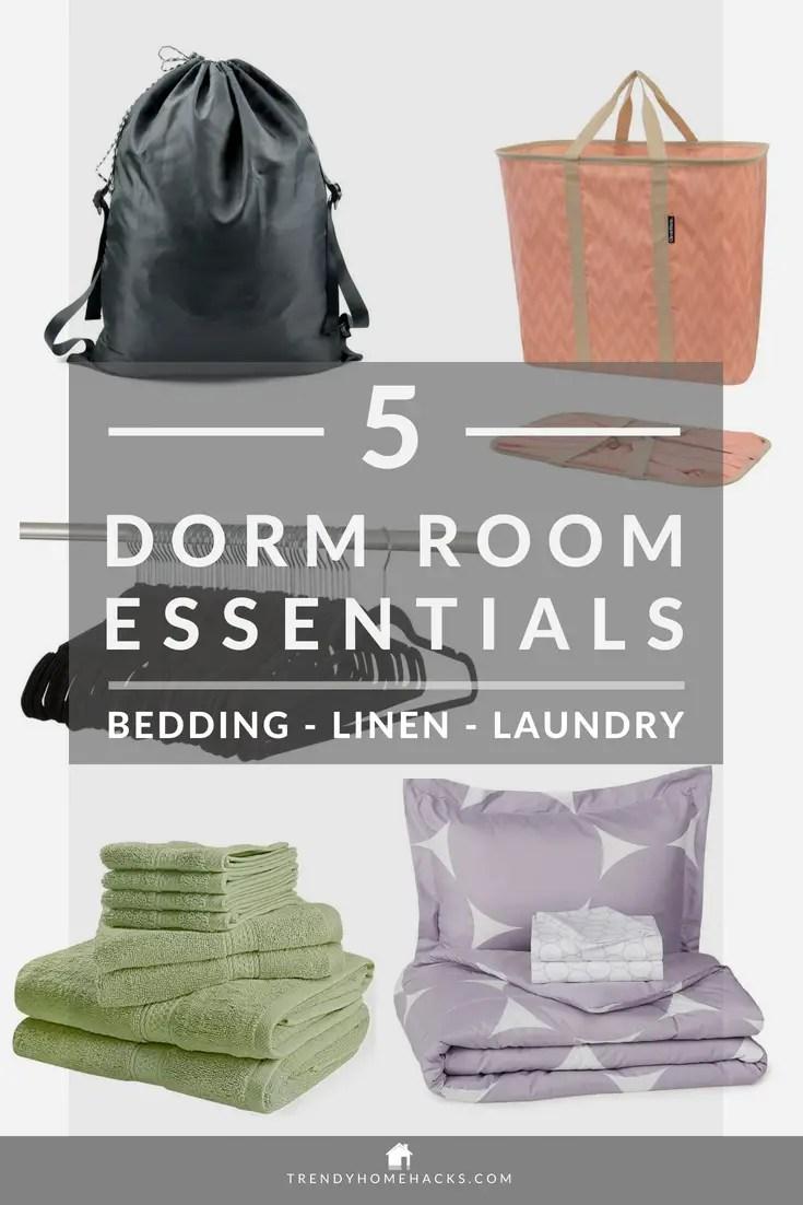 BestDorm Room Bedding, Linen & Laundry Essentials