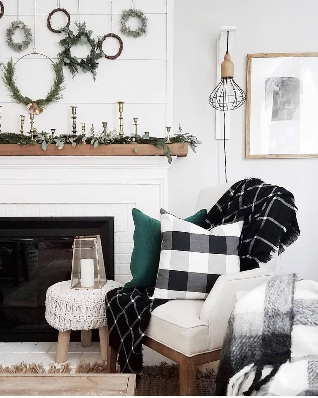 Buffalo Check Black White Year Round Home Decor Ideas
