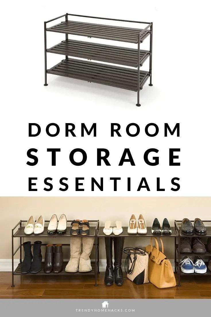 Best Dorm Storage Essentials