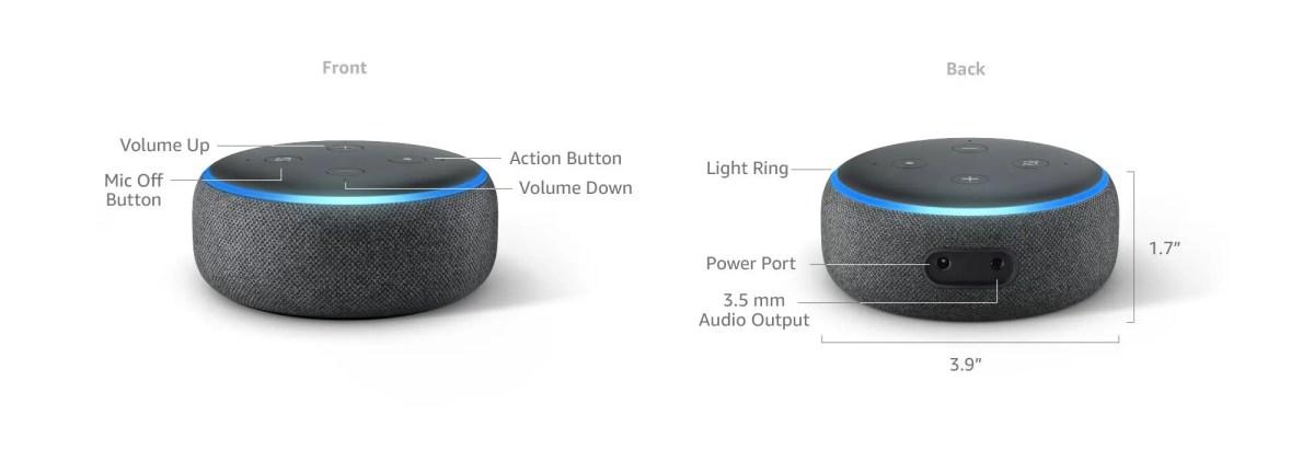 Echo Dot 2018 Smart Home Speaker