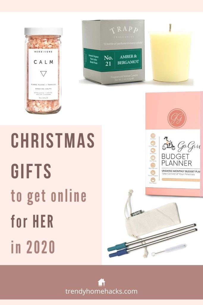 Best Christmas Gift Guide 2020 For Her Pin