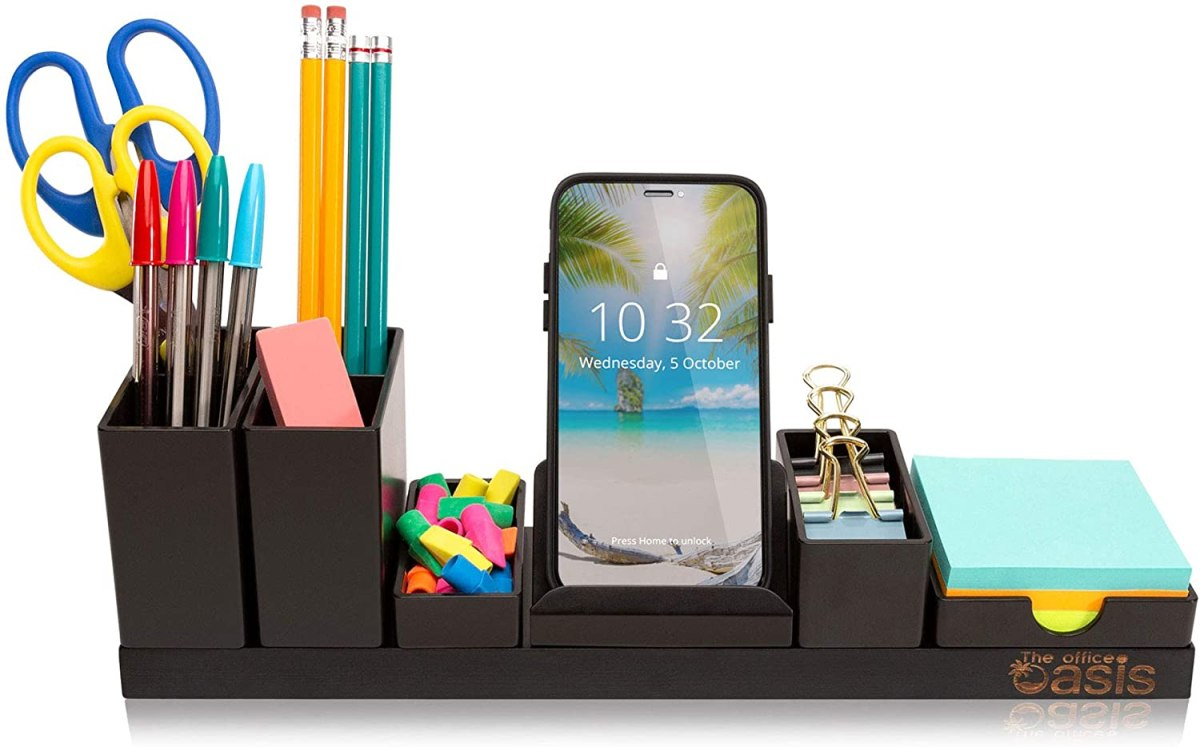 Do you need a desk organizer to set up a productive workspace at home