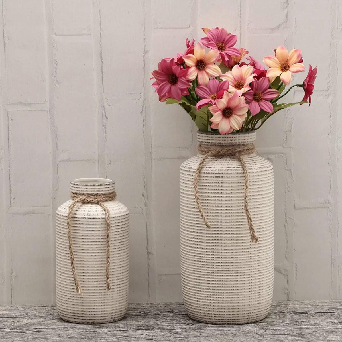 Modern-Frrmhouse-Decorate-with-a-Farmhouse-Vase