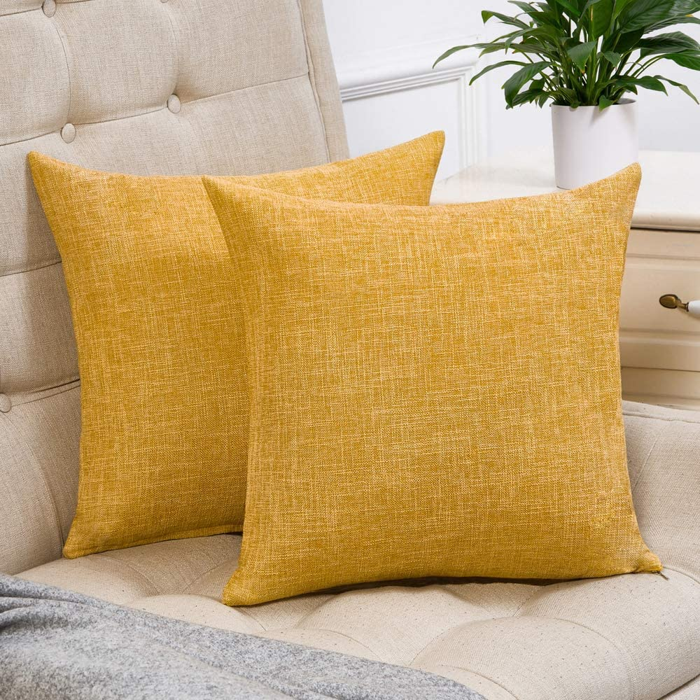 Mustard-Yellow-Pillow-Covers