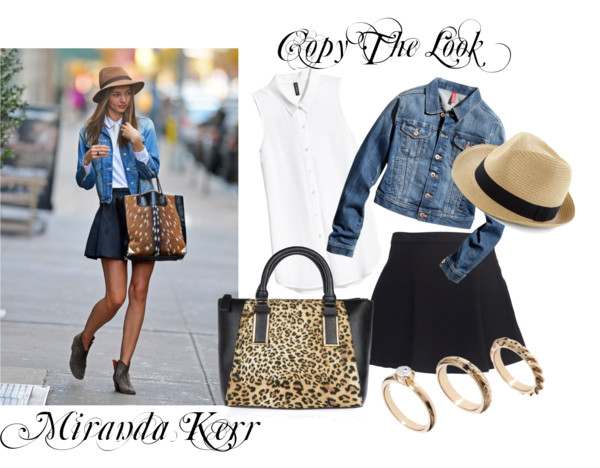Copy the look: Miranda Kerr