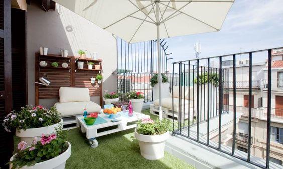 Cómo decorar tu terraza