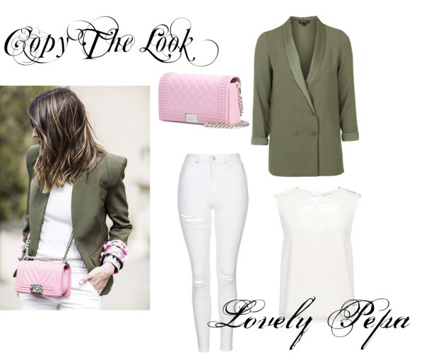 Copy the look: Lovely Pepa in green