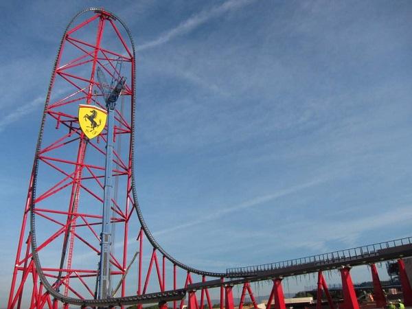 Descubre el nuevo parque de atracciones de Ferrari en Port Aventura