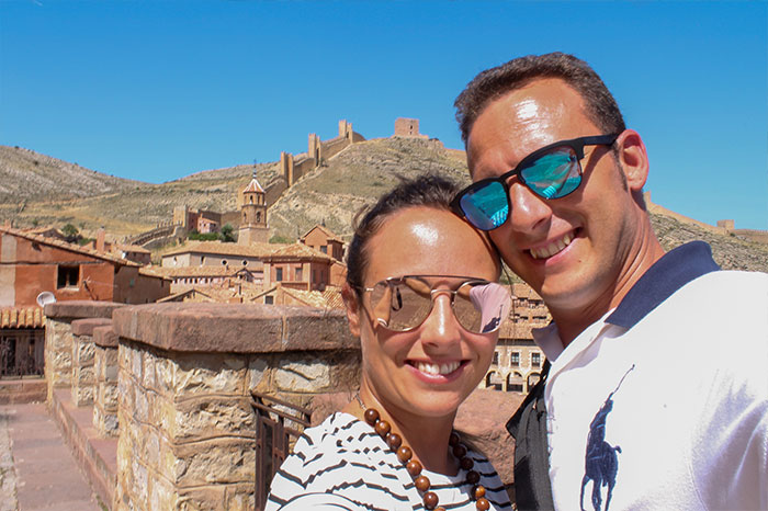 De paseo por Albarracín, un pueblo con mucho encanto