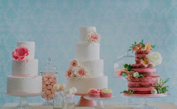 Tartas originales para eventos y bodas, prácticamente un arte que está de moda