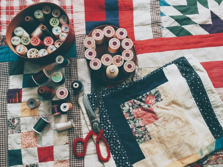 Patchwork para coser cojines