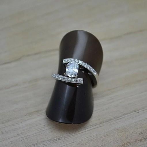 Zilveren verlovingsring Trento Edmee online kopen   Trendy Juweeltjes