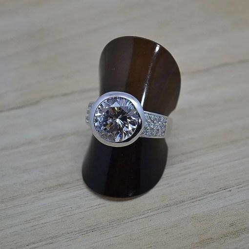 Zilveren verlovingsring Trento Vienna online kopen   Trendy Juweeltjes