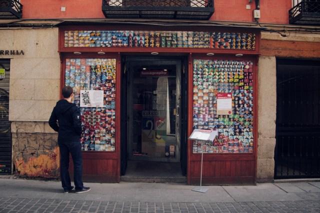 Les rues de Madrid