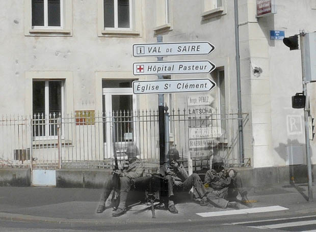 Ghosts of war Cherbourg