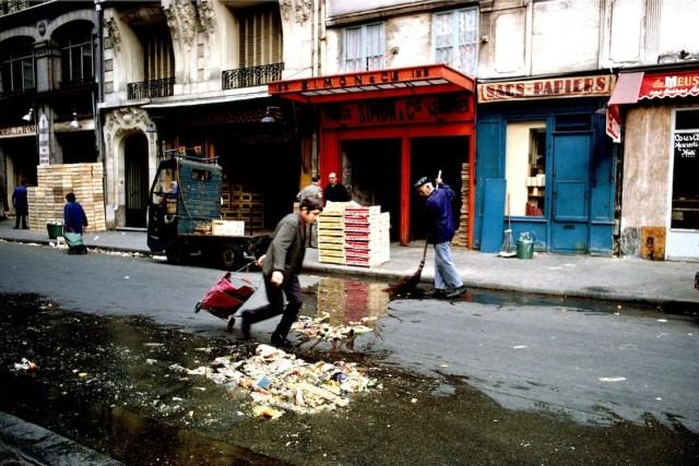 Les Halles, une américaine à Paris