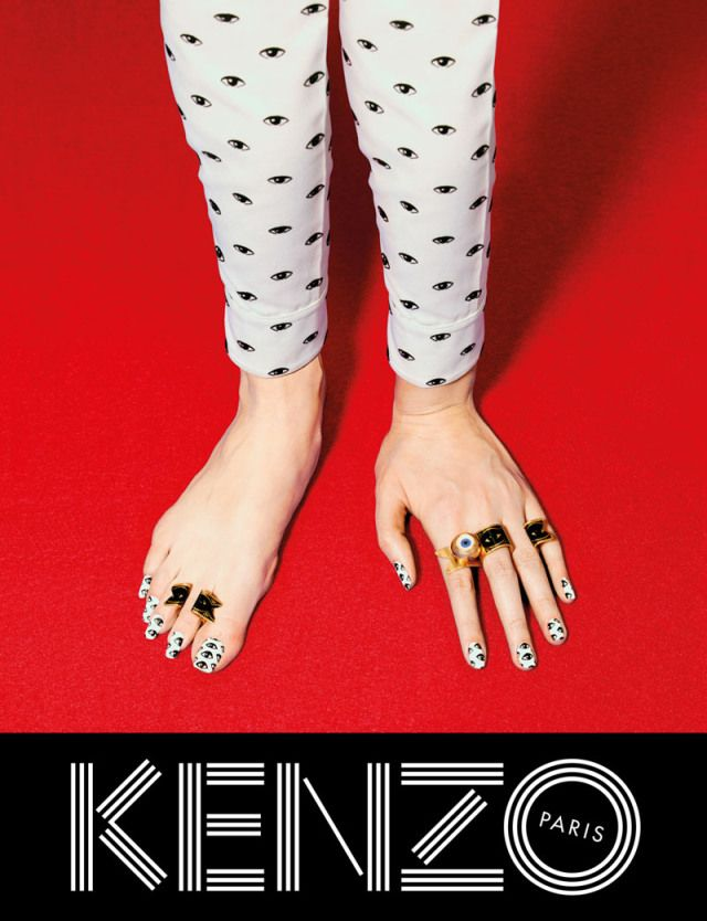 nail art kenzo
