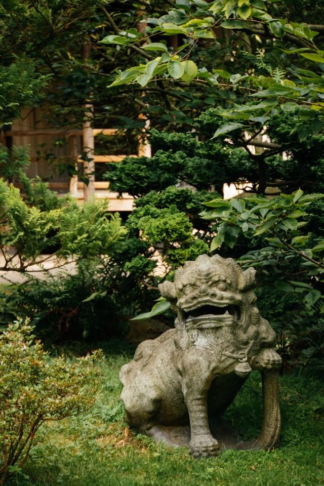 Y-Lan dans le Jardin Albert Kahn