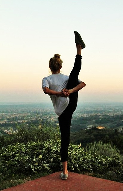Yoga with a view