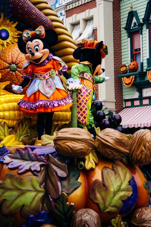 Disneyland Paris Halloween Mini Parade-14