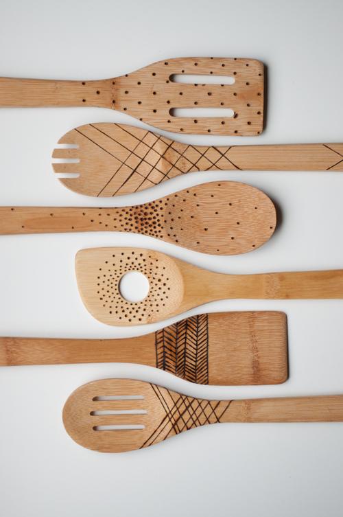 DIY Cuillères en bois