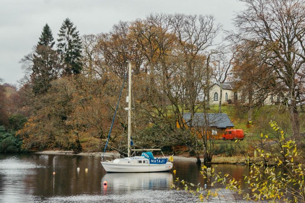 Ecosse - Loch Lomond - Bateau