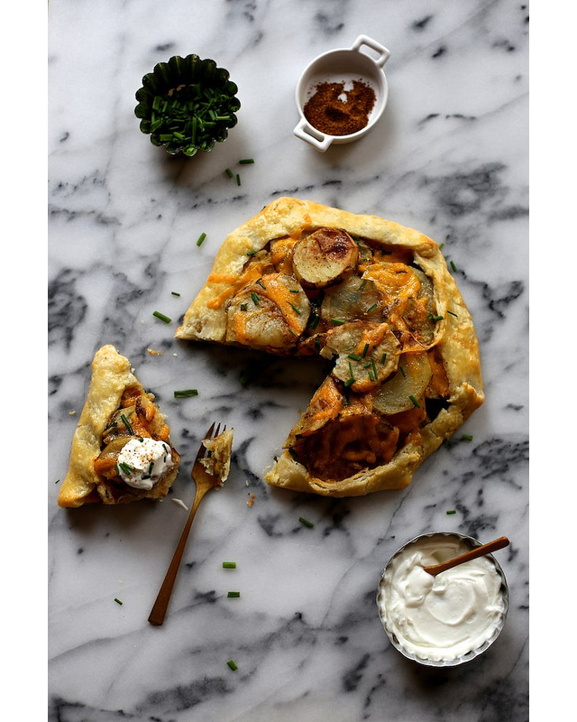 roasted potato galette