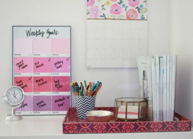 DIY organiseur de bureau